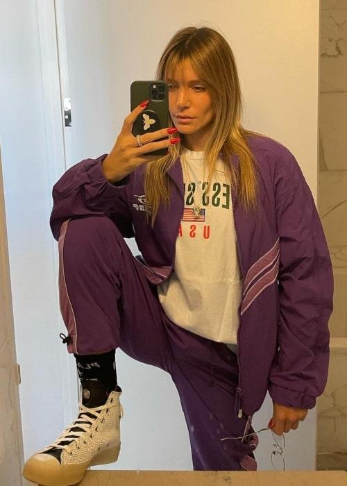 Valentina Ferrer as seen in selfie that was taken in December 2020