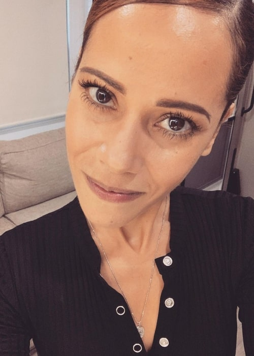 Victoria Cartagena as seen in a selfie that was taken in September 2019