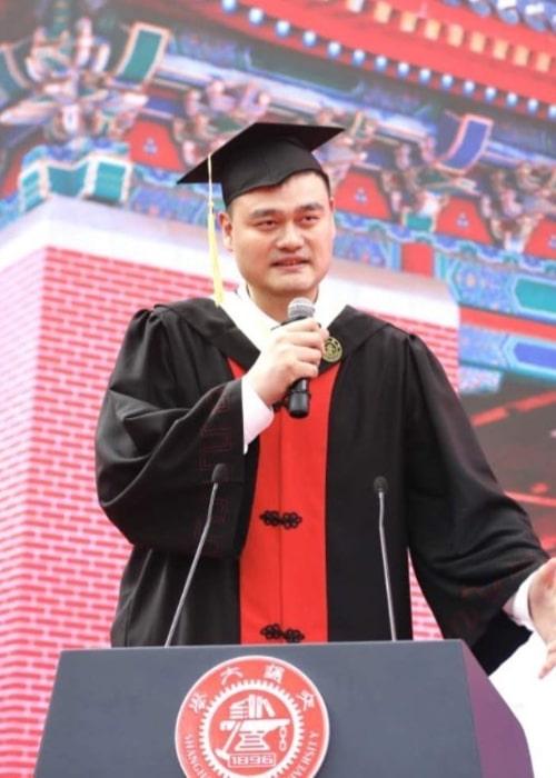 Yao Ming as seen in an Instagram Post in July 2018