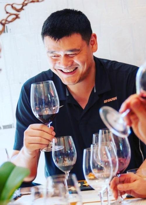 Yao Ming as seen in an Instagram Post in November 2018