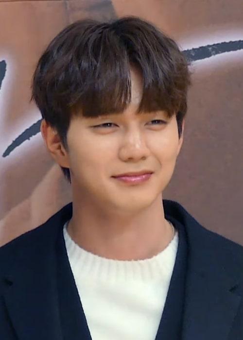 Yoo Seung-ho in 2018