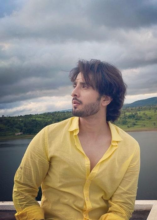 Zaan Khan as seen in an Instagram post in June 2021