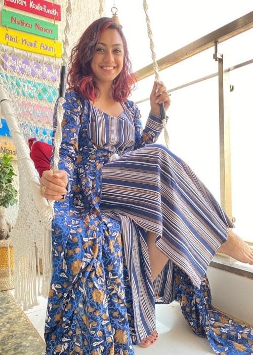Abigail Jain as seen in July 2021
