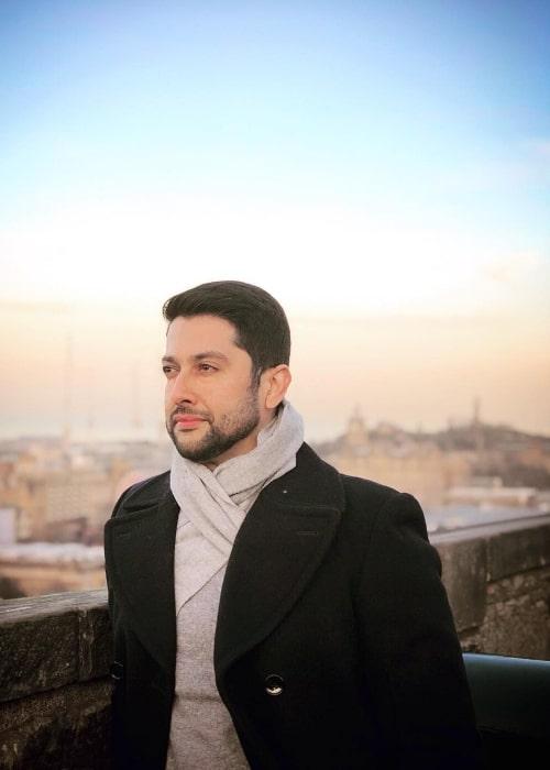 Aftab Shivdasani as seen while posing for the camera in Edinburgh, United Kingdom in January 2019