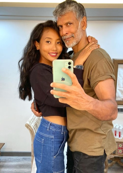 Ankita Konwar and her husband actor, supermodel, film producer, and fitness enthusiast in July 2021