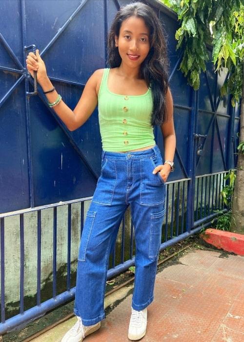 Ankita Konwar as seen in a picture that was taken in July 2021