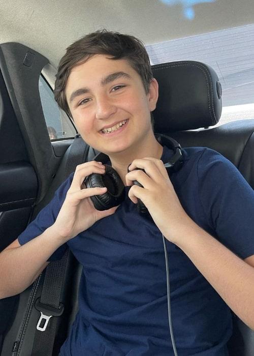 Benjamin Valic smiling for a picture in Burbank, California in June 2021