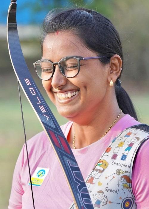 Deepika Kumari as seen in an Instagram Post in May 2021