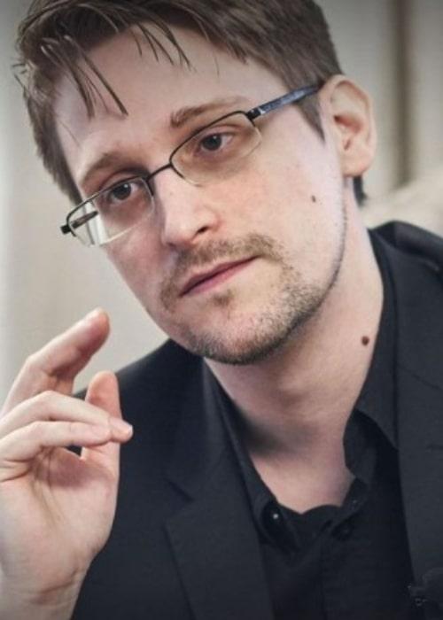 Edward Snowden as seen in an Instagram Post in April 2018