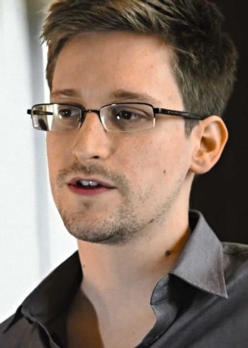 Edward Snowden as seen in an Instagram Post in August 2017