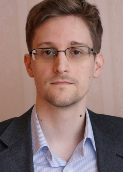 Edward Snowden as seen in an Instagram Post in March 2017