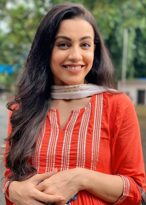 Esha Kansara as seen in a picture that was taken in July 2021
