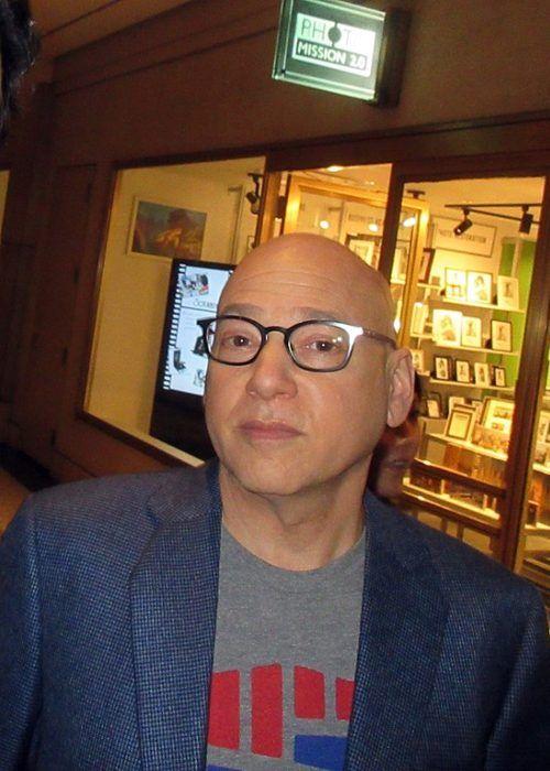 Evan Handler as photographed in April 2019