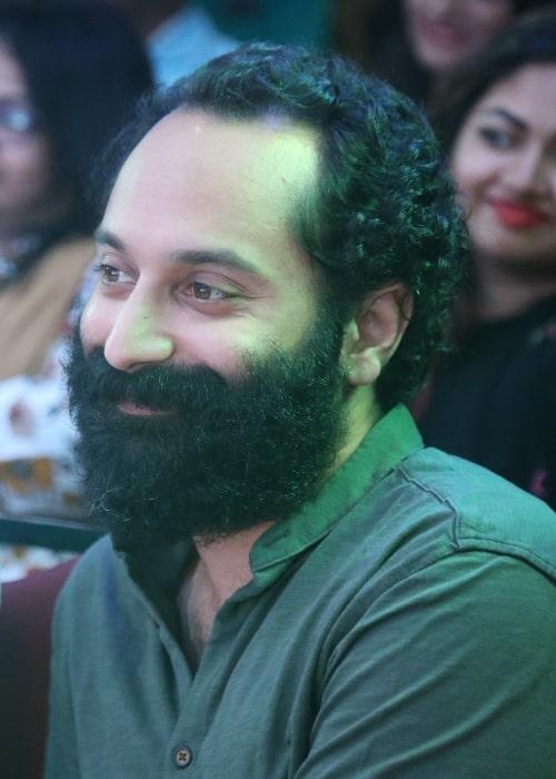Fahadh Faasil during an event