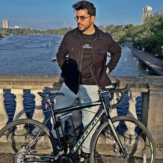 Gautam Gulati at Hyde Park in London, England, United Kingdom in May 2021