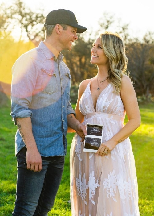 Granger Smith and Amber Emily Bartlett, as seen in March 2021