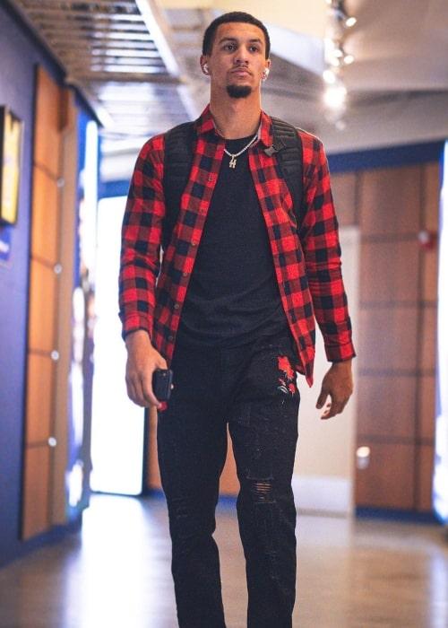Jalen Suggs as seen in an Instagram Post in January 2021