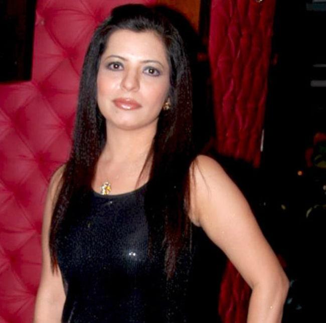 Jennifer Mistry Bansiwal at Taarak Mehta Ka Ooltah Chashmah's 500 episodes success party