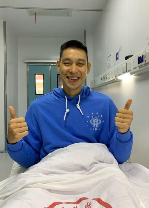 Jeremy Lin as seen in an Instagram Post in August 2021
