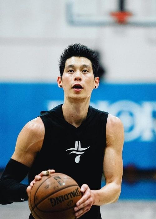 Jeremy Lin as seen in an Instagram Post in March 2021
