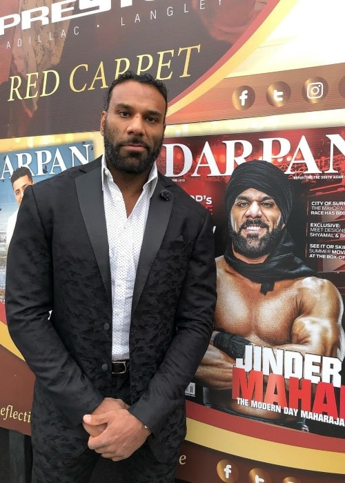 Jinder Mahal as seen in an Instagram Post in February 2020
