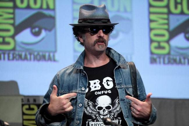 John Ales pictured while speaking at the 2015 San Diego Comic Con International at the San Diego Convention Center in San Diego, California
