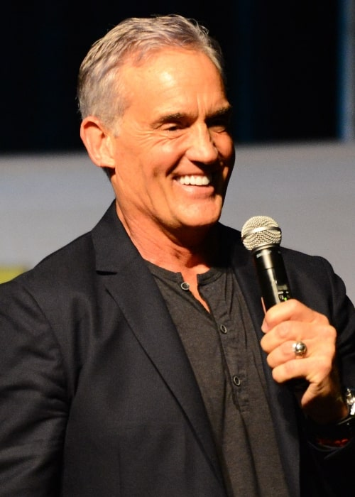 John Wesley Shipp pictured at the Raleigh Supercon in 2017