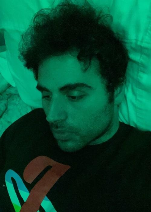 Jon Zherka as seen in a selfie that was taken in July 2021