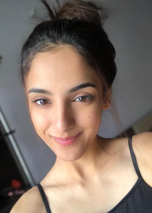 Kanikka Kapur as seen in a selfie that was taken in December 2020
