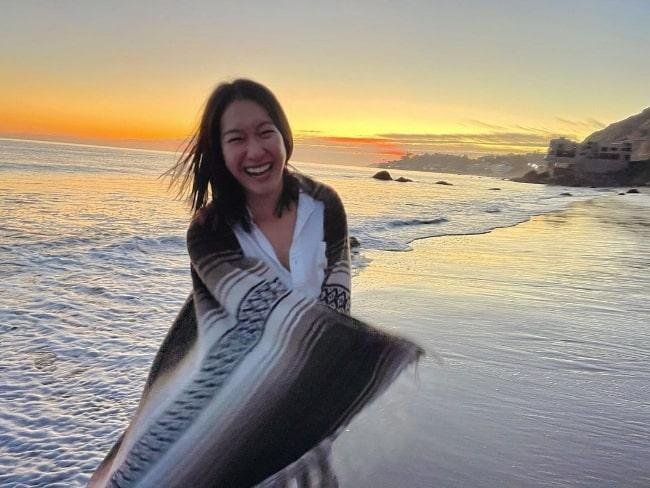 Kara Wang as seen in April 2021