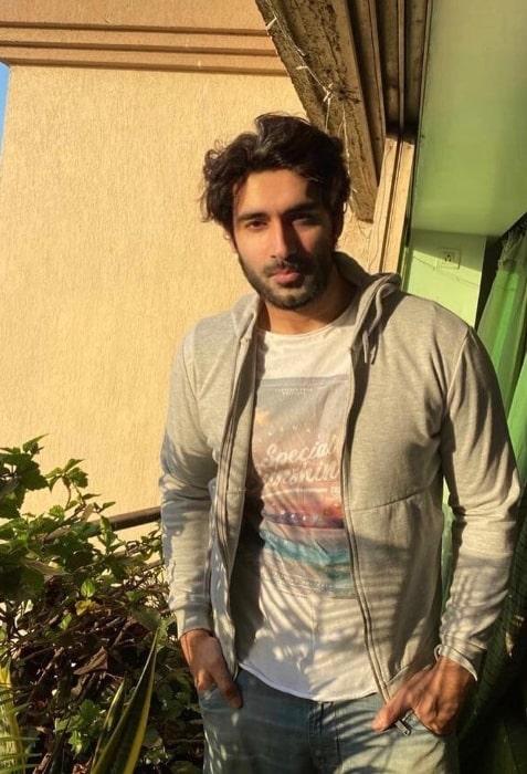 Karan Nath as seen in an Instagram post in July 2021