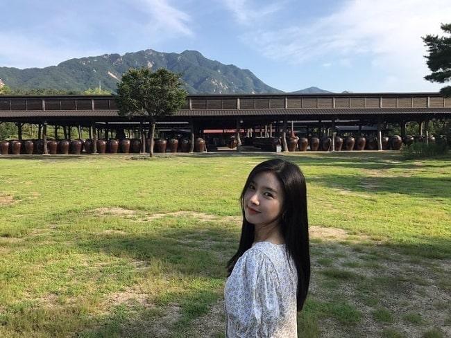 Kim So-eun in August 2019