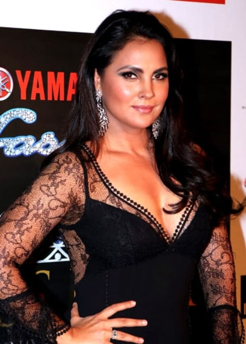 Lara Dutta pictured at the Miss Universe India pageant 2018