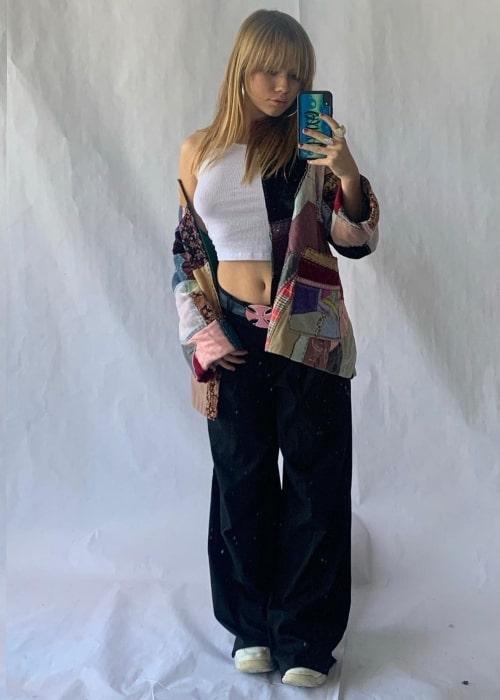 Lexee Smith as seen in a selfie that was taken in November 2020