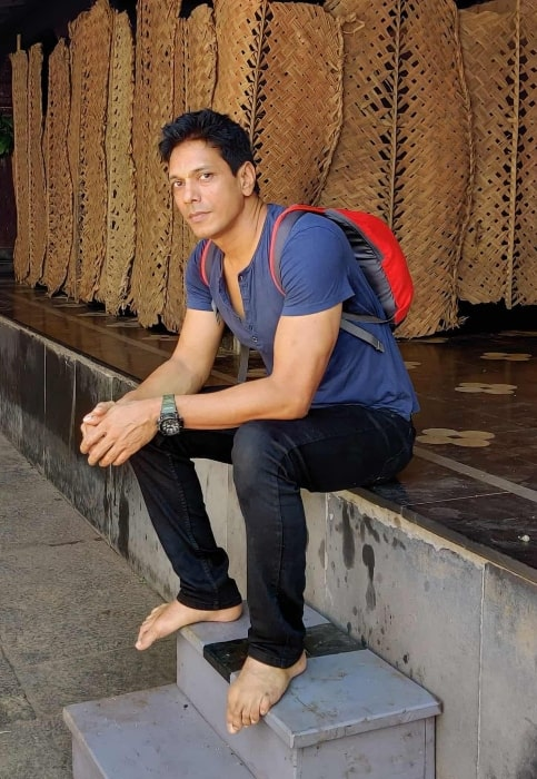 Mahesh Shetty as seen in an Instagram post in January 2020