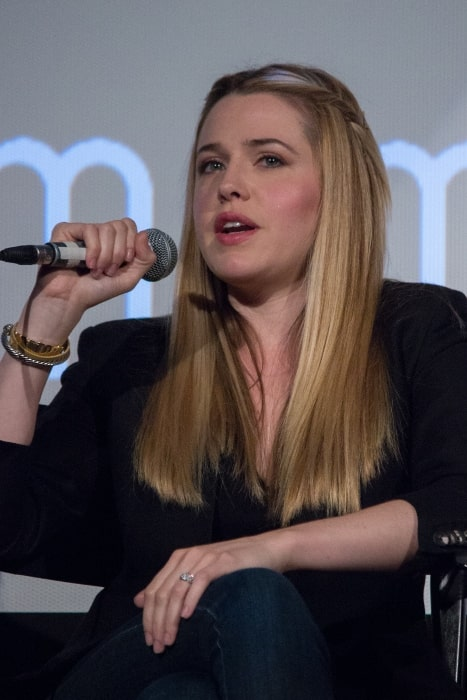 Majandra Delfino pictured at the ATX TV Festival 2014 for the TV show 'Roswell'