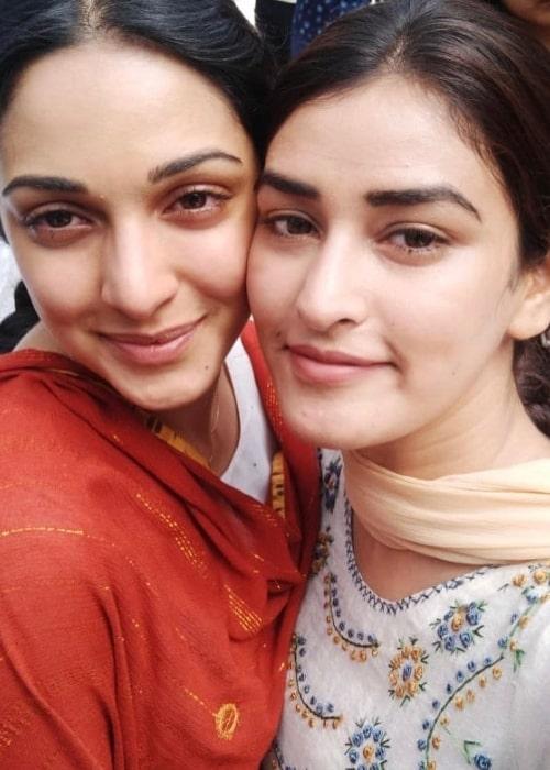 Manmeet Kaur (Right) and Kiara Advani