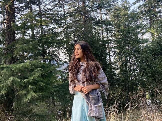 Manmeet Kaur in Shimla, Himachal Pradesh, India in 2021