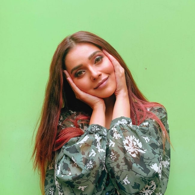 Mansi Srivastava smiling for a picture in August 2021