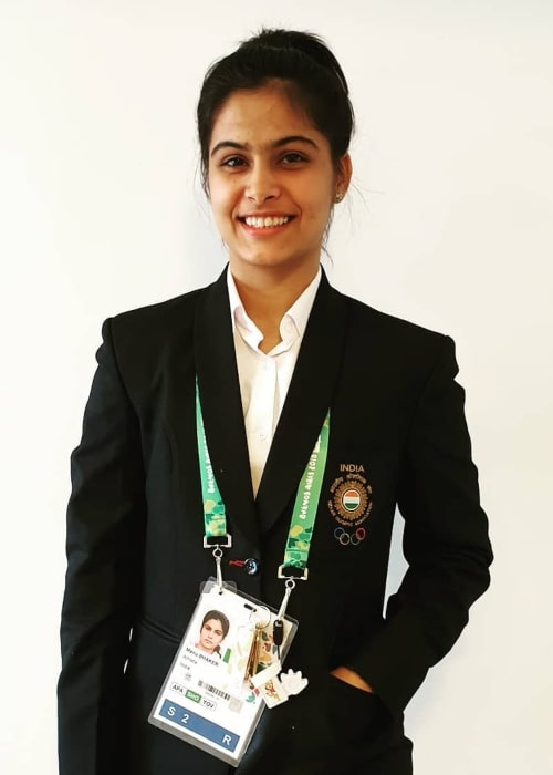 Manu Bhaker as seen in an Instagram Post in January 2019
