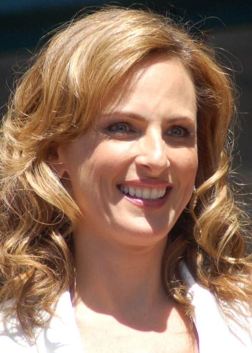 Marlee Matlin as seen in a picture that was taken on May 5, 2009, while receiving a star at the Hollywood Walk of Fame