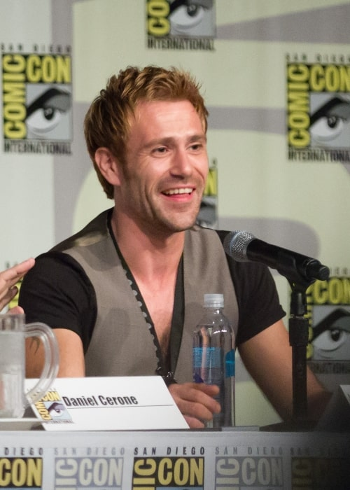 Matt Ryan as seen at the 2014 Comic Con presentation for the TV show 'Constantine'
