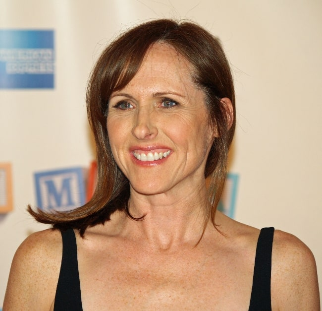 Molly Shannon pictured at the premiere of 'Baby Mama' at the 2008 Tribeca Film Festival