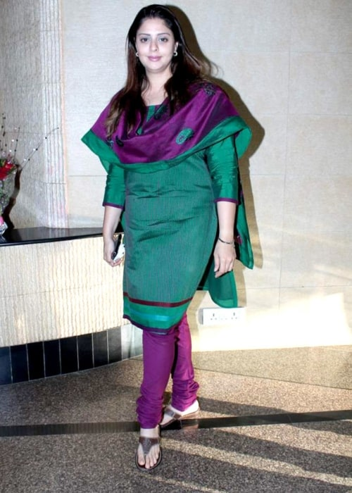 Nagma as seen in a picture that was taken in at the RK Excellence Awards on May 16, 2012