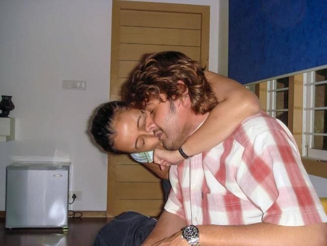 Namrata Shirodkar and Mahesh Babu