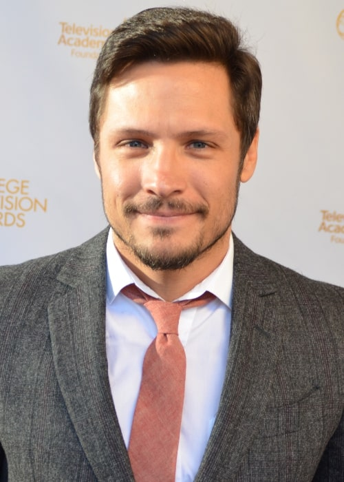 Nick Wechsler as seen in a picture that was taken at the 35th College Television Awards ceremony on April 23, 2014