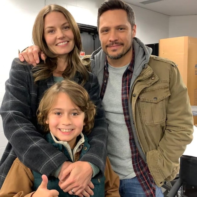 Nick Wechsler as seen in a picture with actress Jennifer Morrison in October 2019
