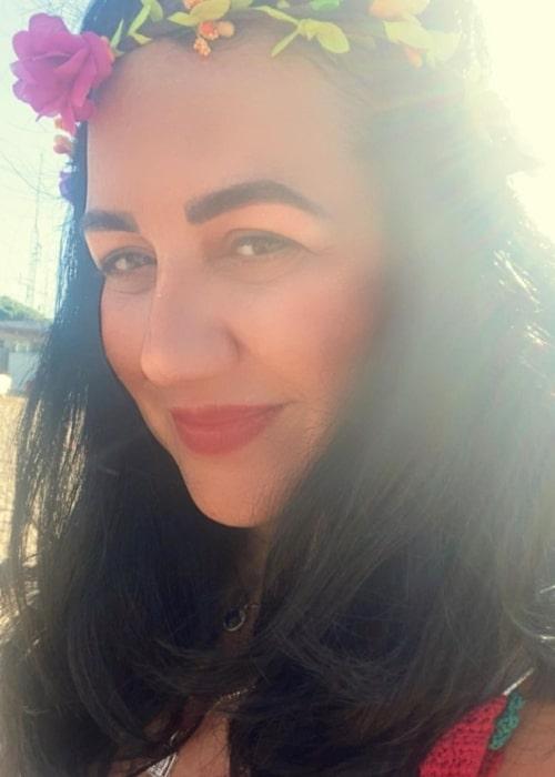 Nina Hazem as seen in a selfie that was taken in July 2021