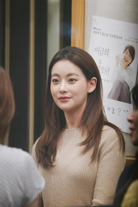 Oh Yeon-seo as seen during an event