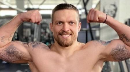 Oleksandr Usyk Height, Weight, Age, Body Statistics